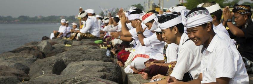 Feeling happy in Bali