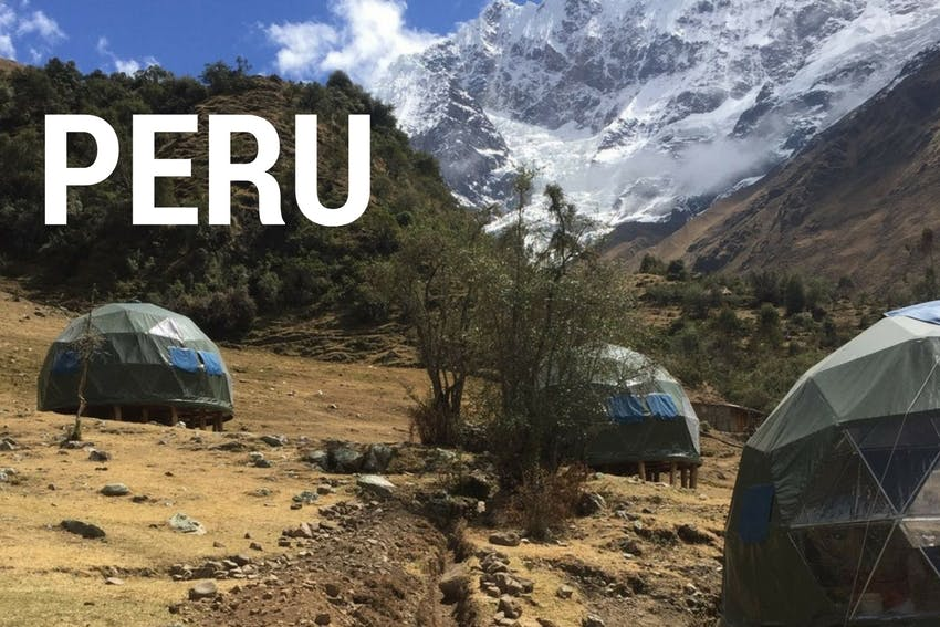 Eco-tourism internship in Peru