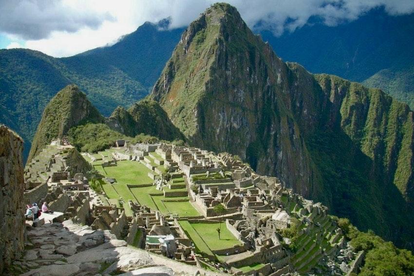 Vista of Machu Picchu