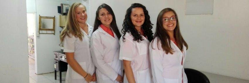 Medical interns in Costa Rica