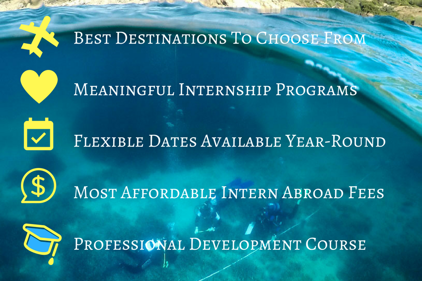 Summer Internships Abroad in 2018
