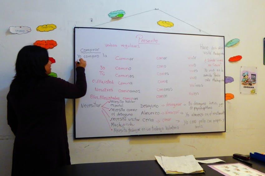 Spanish lessons in Cusco