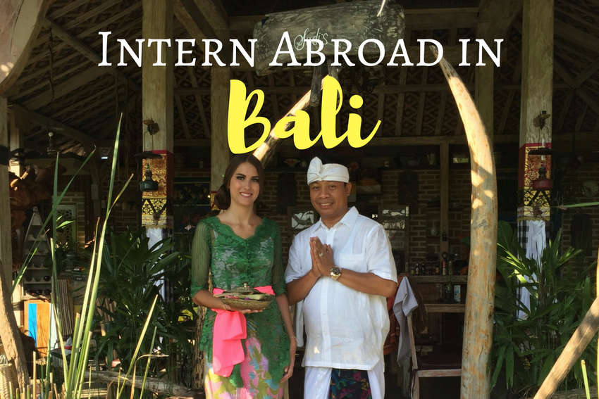 Summer Intern Abroad in Bali 2018