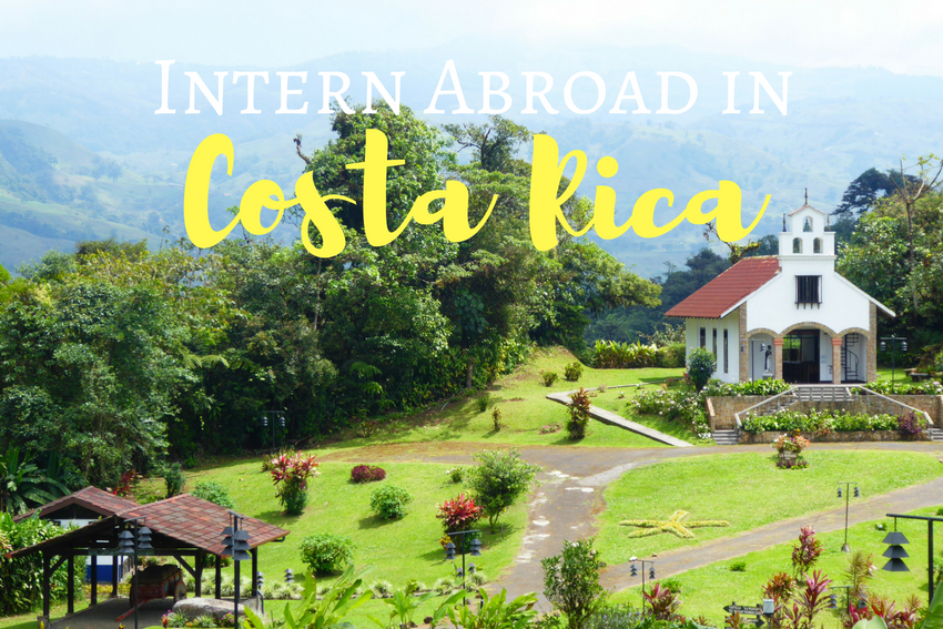 Summer Intern Abroad in Costa Rica 2018