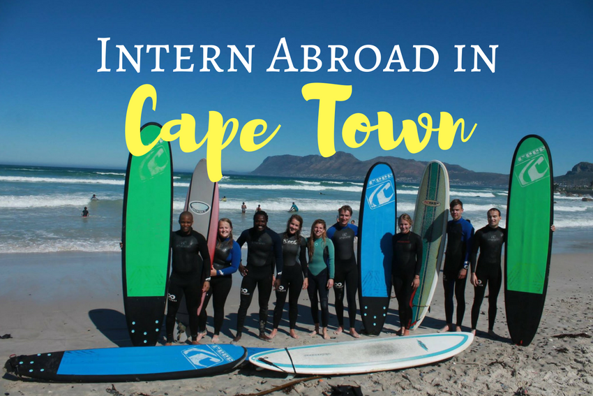 Summer Intern Abroad in Cape Town South Africa 2018