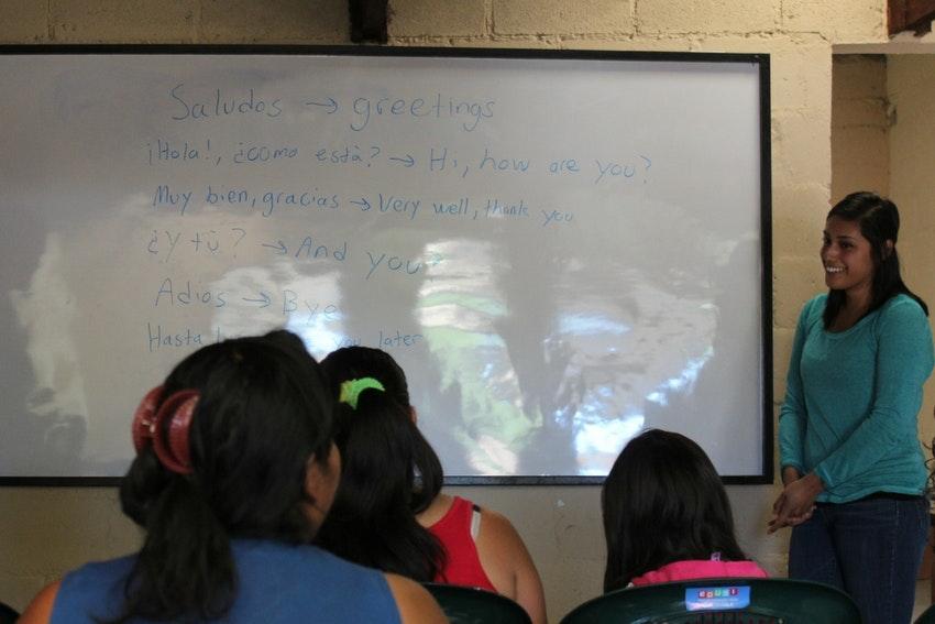 Teaching English internship in Guatemala