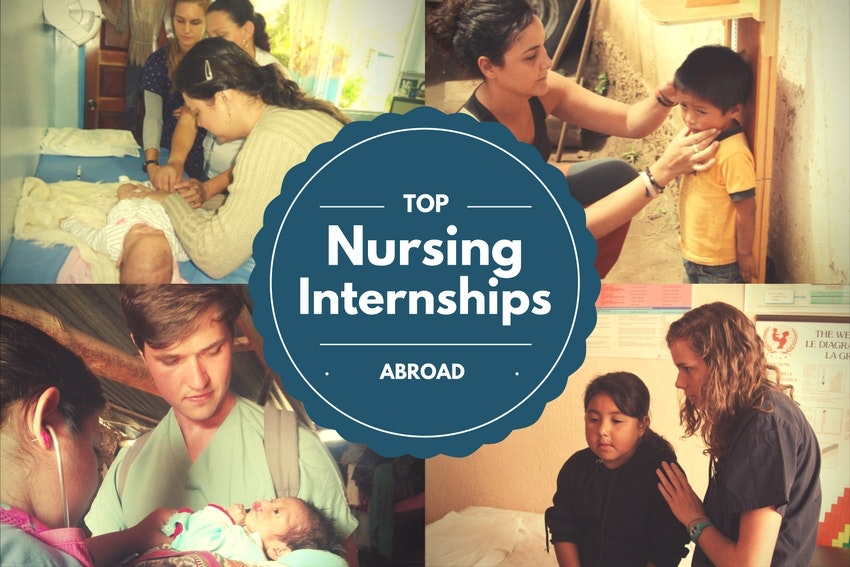 Top Nursing Internships Abroad