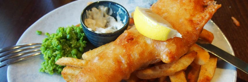 Fish and chips in Ireland