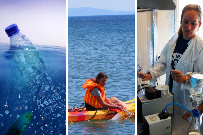 Microplastic and lab research internship in Greece