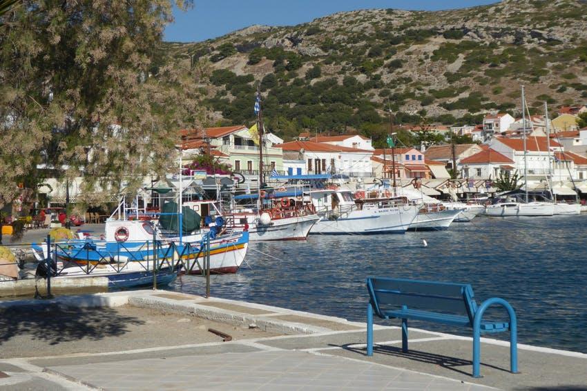 Port in Samos Island, Greece, Intern Abroad HQ