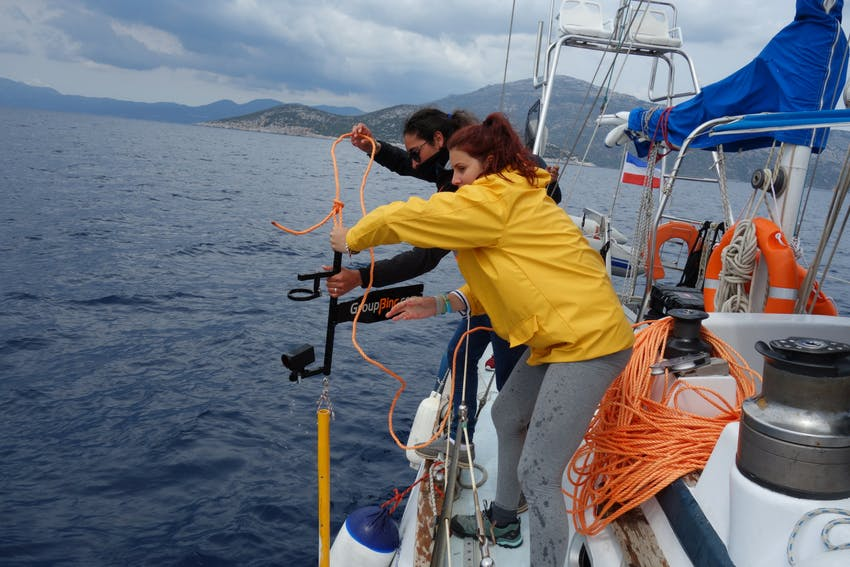 Testing water for micro-plastics in Greece, Intern Abroad HQ