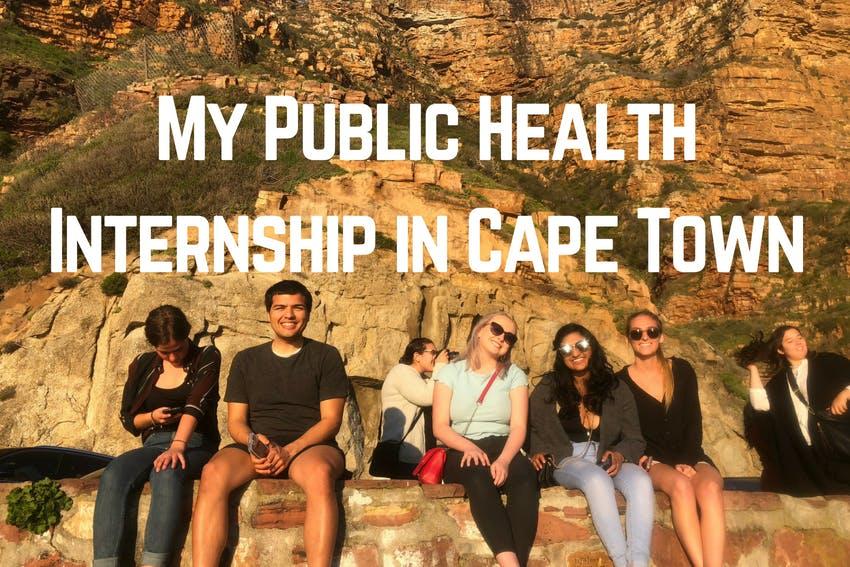 My Public Health Internship in Cape Town