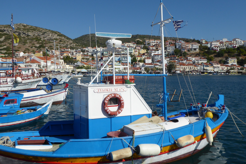 Port in Samos Island, Interns in Greece, Intern Abroad HQ