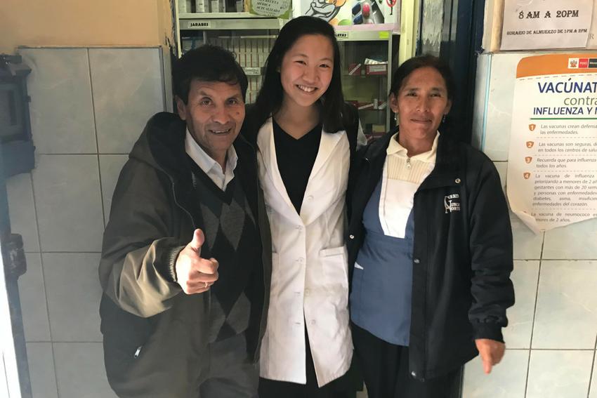 Medical intern in Cusco, Peru