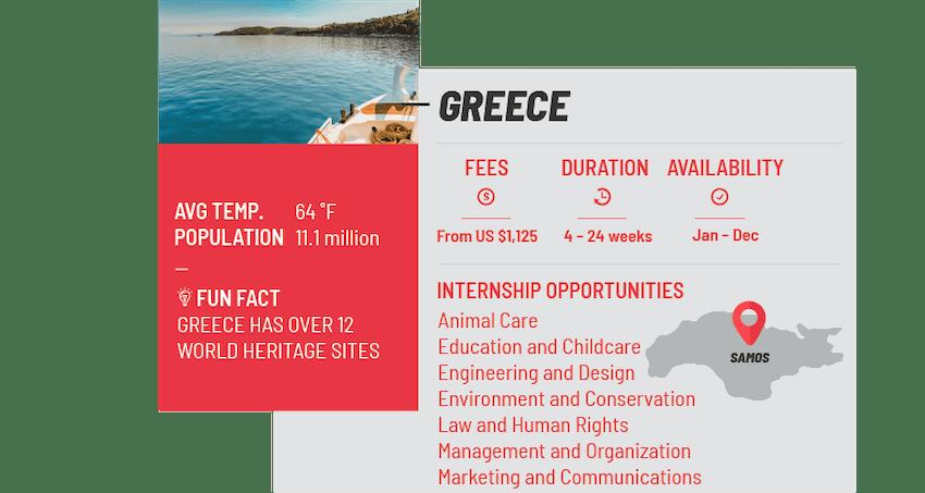 Best internship programs Greece