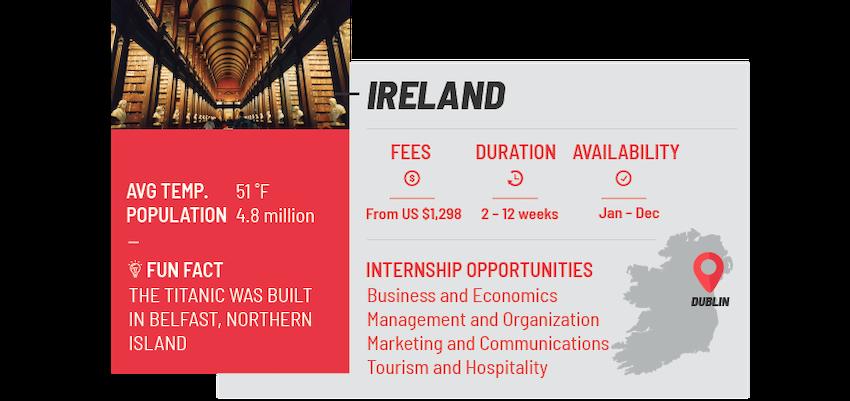 Best internship programs Ireland