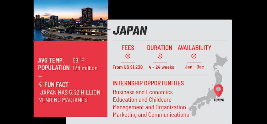 Best internship programs Japan