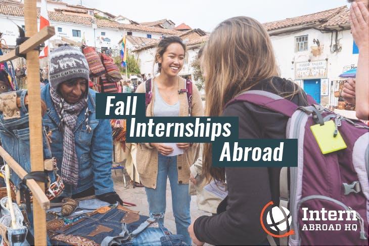 Fall internships abroad