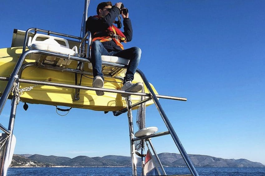 Stephen Cull marine science intern in Greece, Intern Abroad HQ