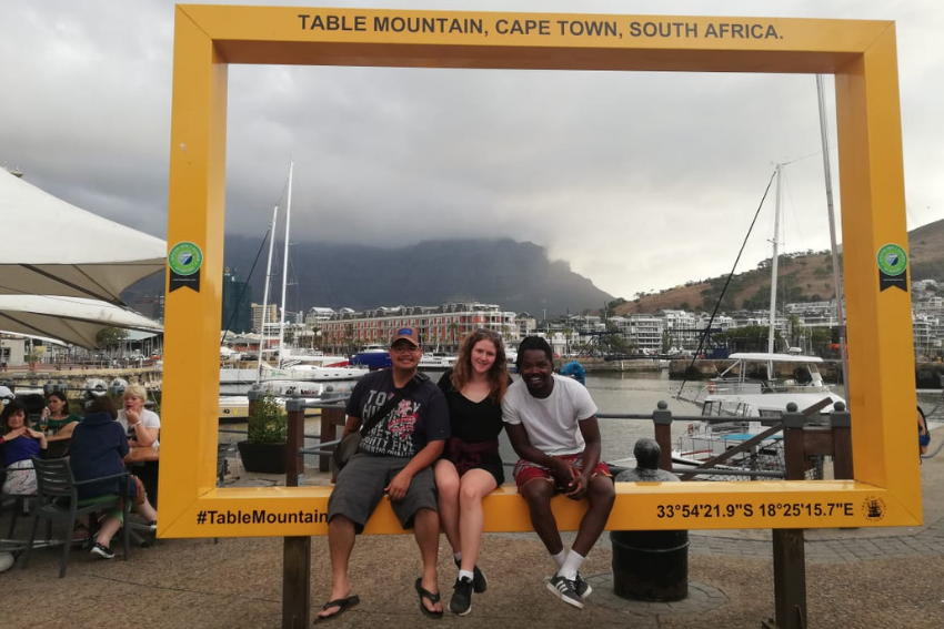 Interns at Table View in Cape Town
