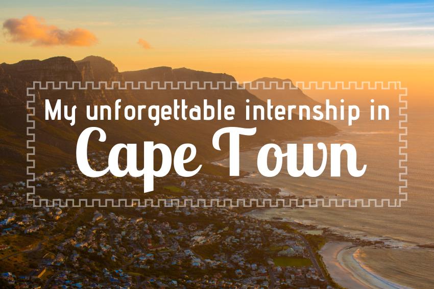My unforgettable internship in Cape Town