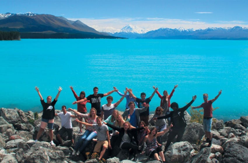 Intern Abroad HQ travel to South Island, New Zealand