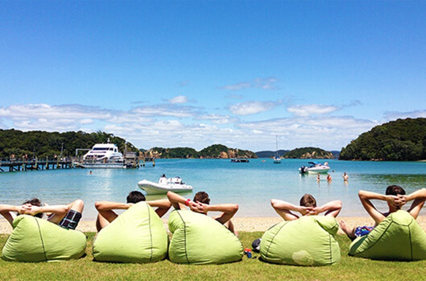 New Zealand Bay of Islands with Intern Abroad HQ