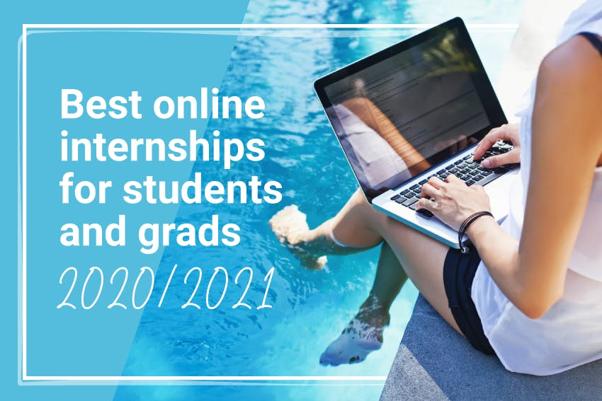 Best Online Internships for Students and Grads