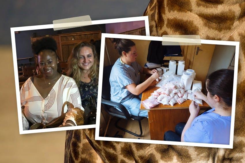 Julia's Pharmacy Internship Abroad in Tanzania with Intern Abroad HQ.