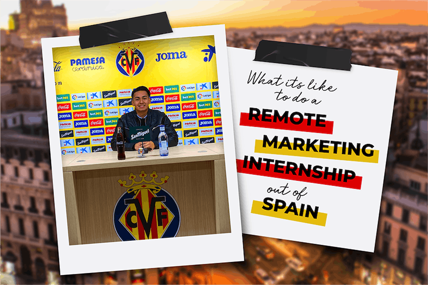 What it's like to do a Virtual Marketing Internship out of Spain