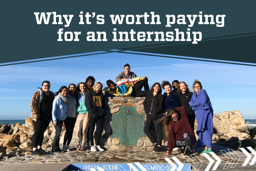 Why it's worth paying for an internship