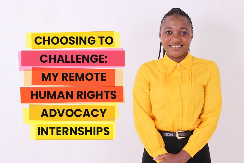 Tinevimbo's testimonial on how interning remotely with Intern Abroad HQ helped her pursue a Human Rights career.