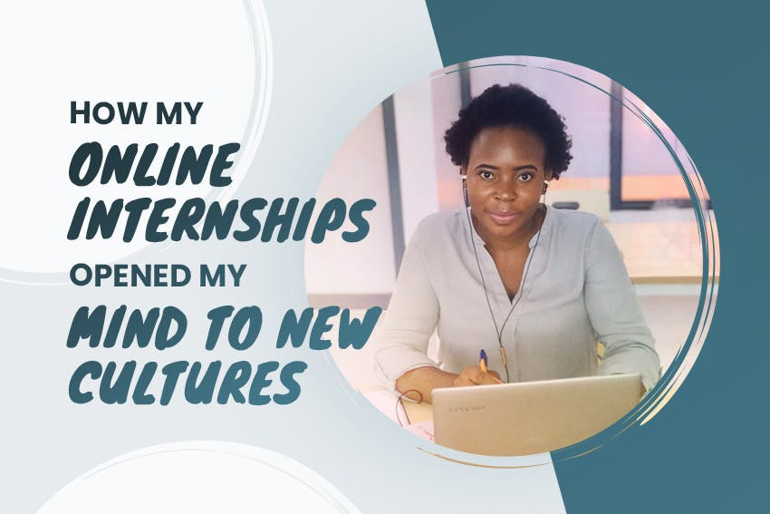 Tafadzwa's virtual Psychology and HR internships through Intern Abroad HQ enabled her to learn about new cultures, become more open minded and find her career path.