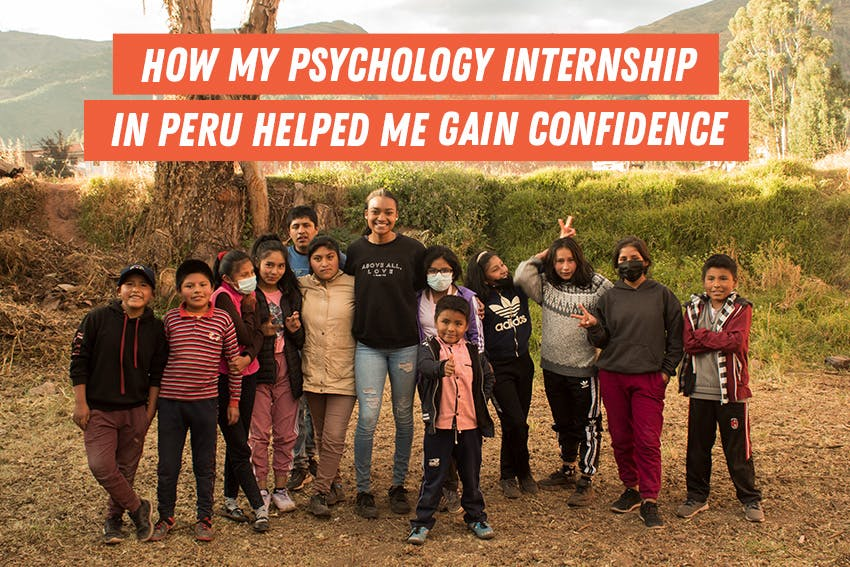 Javan's Child Psychology internship abroad in Peru with Intern Abroad HQ helped her gain career confidence.