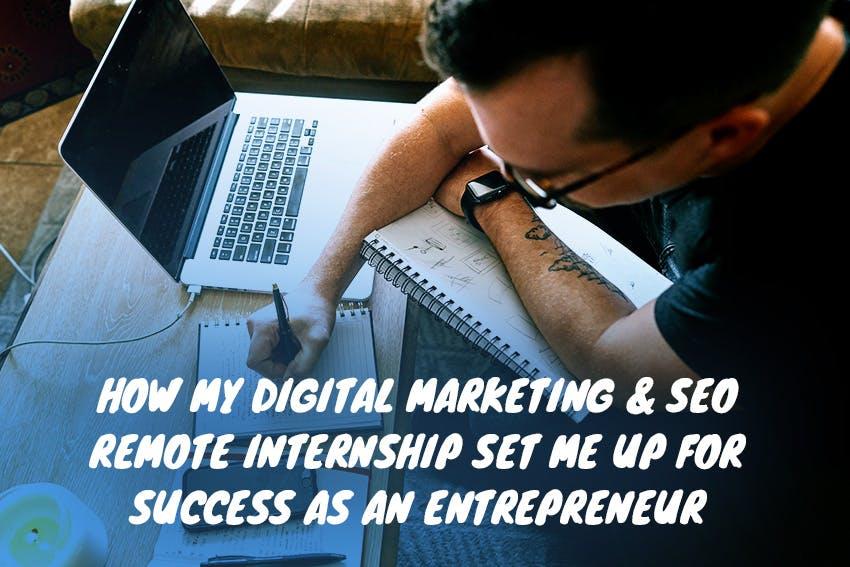 How Orazio's Digital Marketing & SEO Remote Internship with Intern Abroad HQ set him up for success as an entrepreneur.