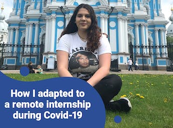 How Christina's adapted to a Remote Internship during Covid-19 with Intern Abroad HQ
