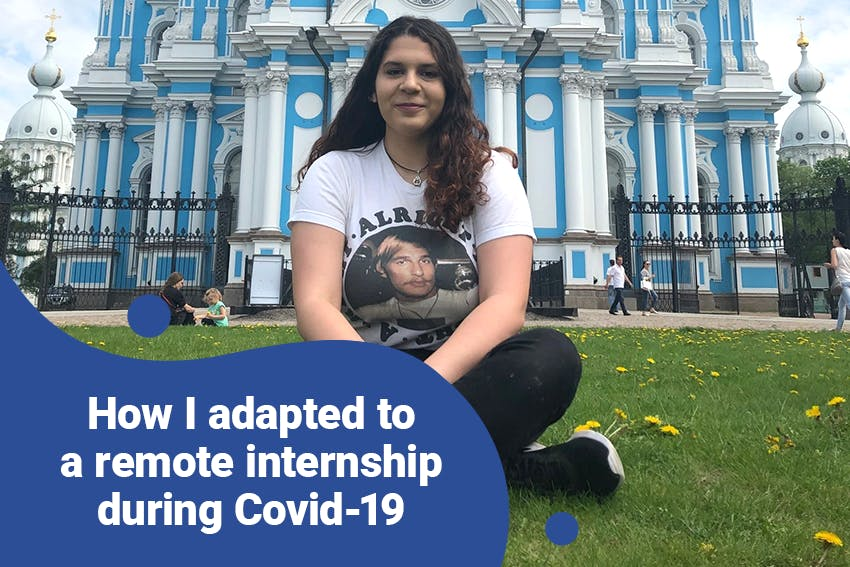 How Christina adapted to a Remote Internship during Covid-19 with Intern Abroad HQ.