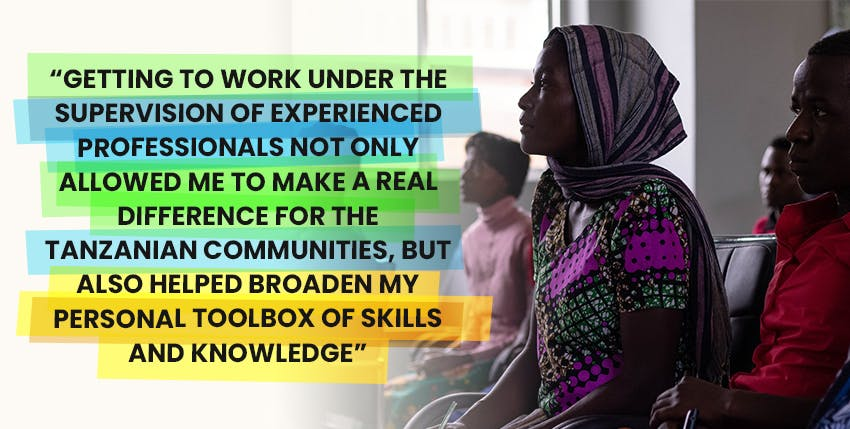 Alina's Social Work & NGO Support Remote Internship out of Tanzania with Intern Abroad HQ testimonial.