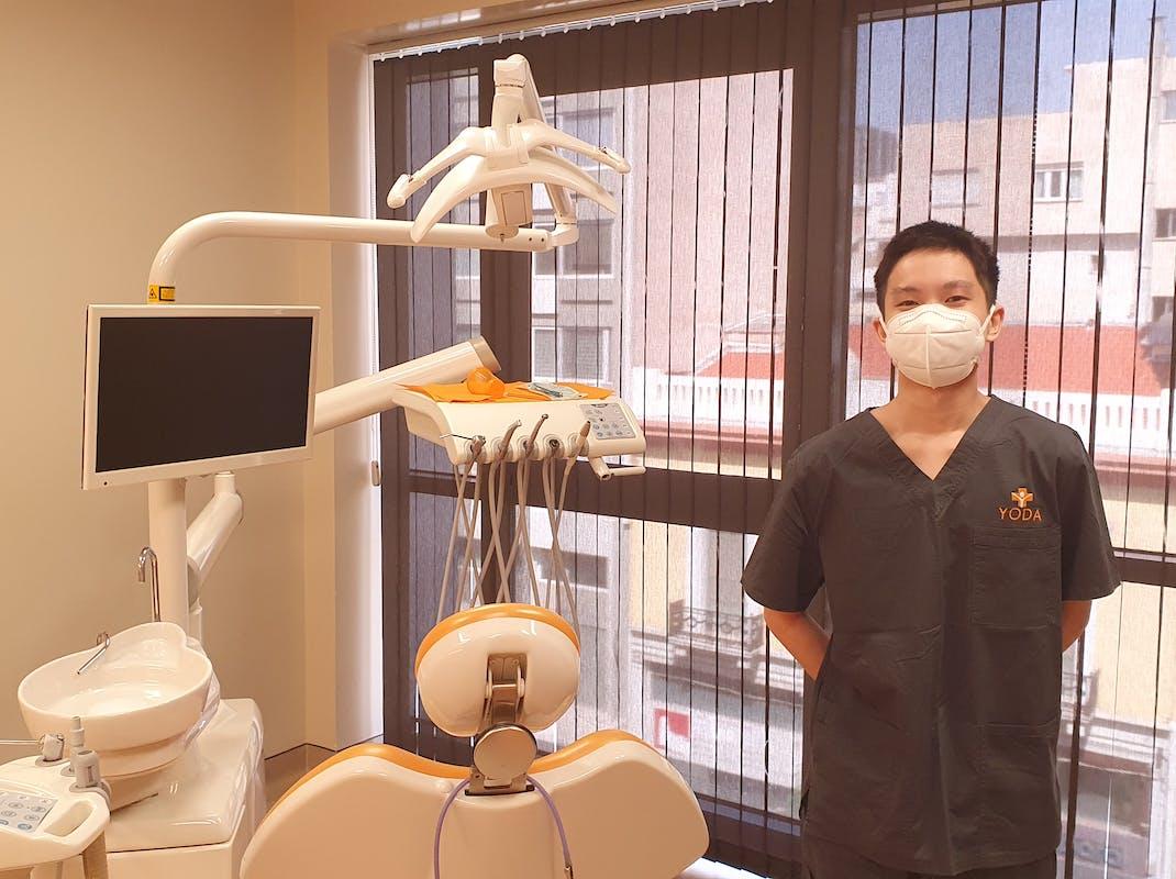 Dental intern in Greece