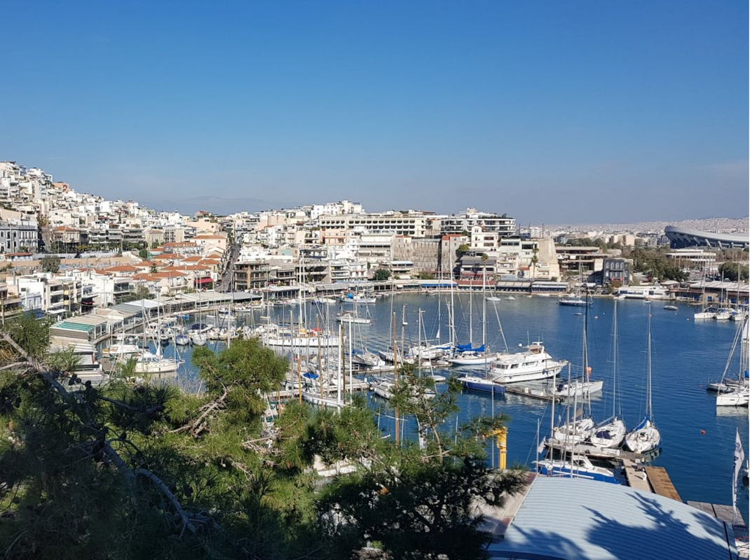 Marina view in Athens