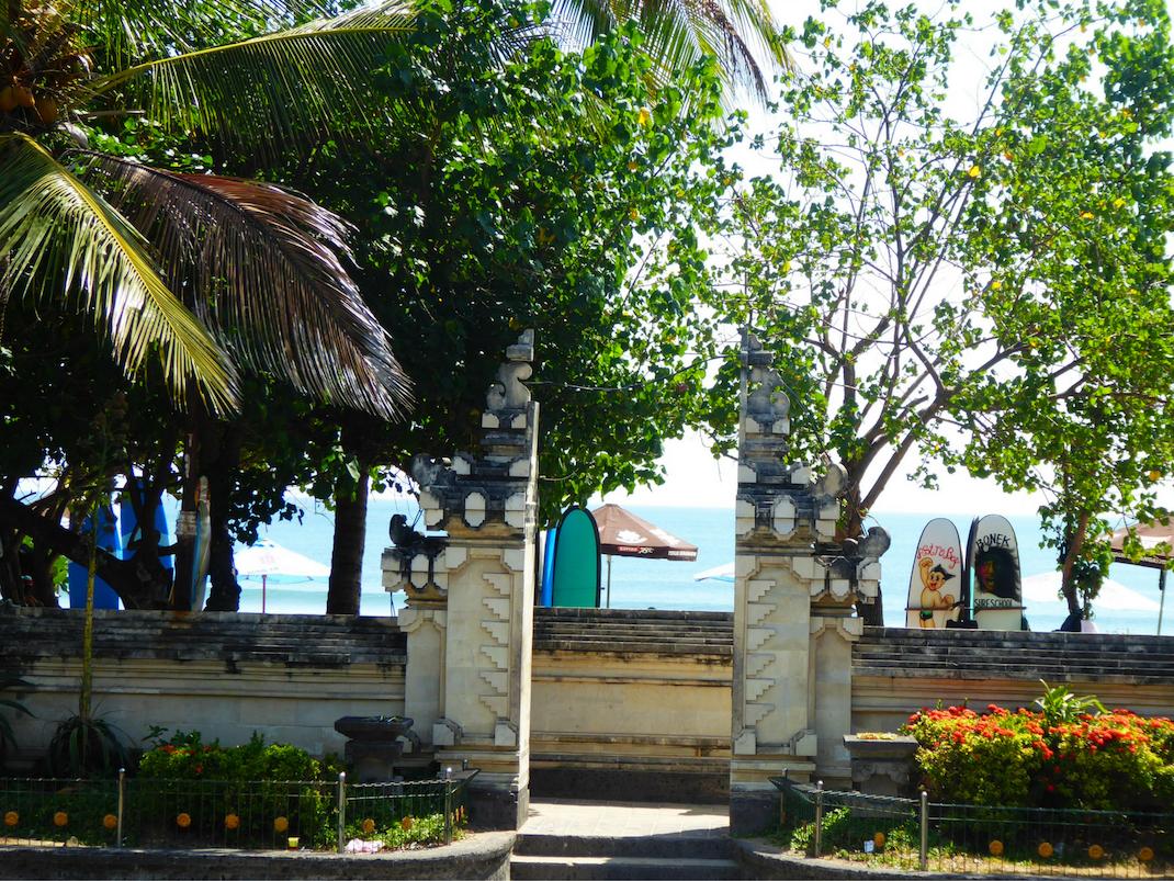 Kuta Beach Bali Jalan Pantai Kuta