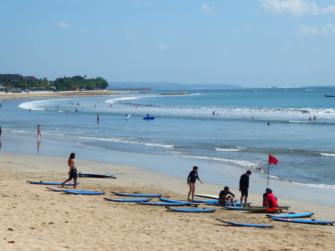 Learn to Surf Kuta Beach Bali