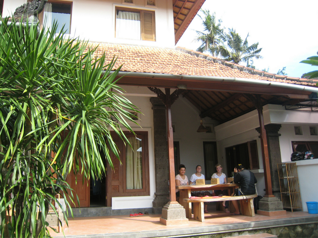 Internship guest house accommodation Bali