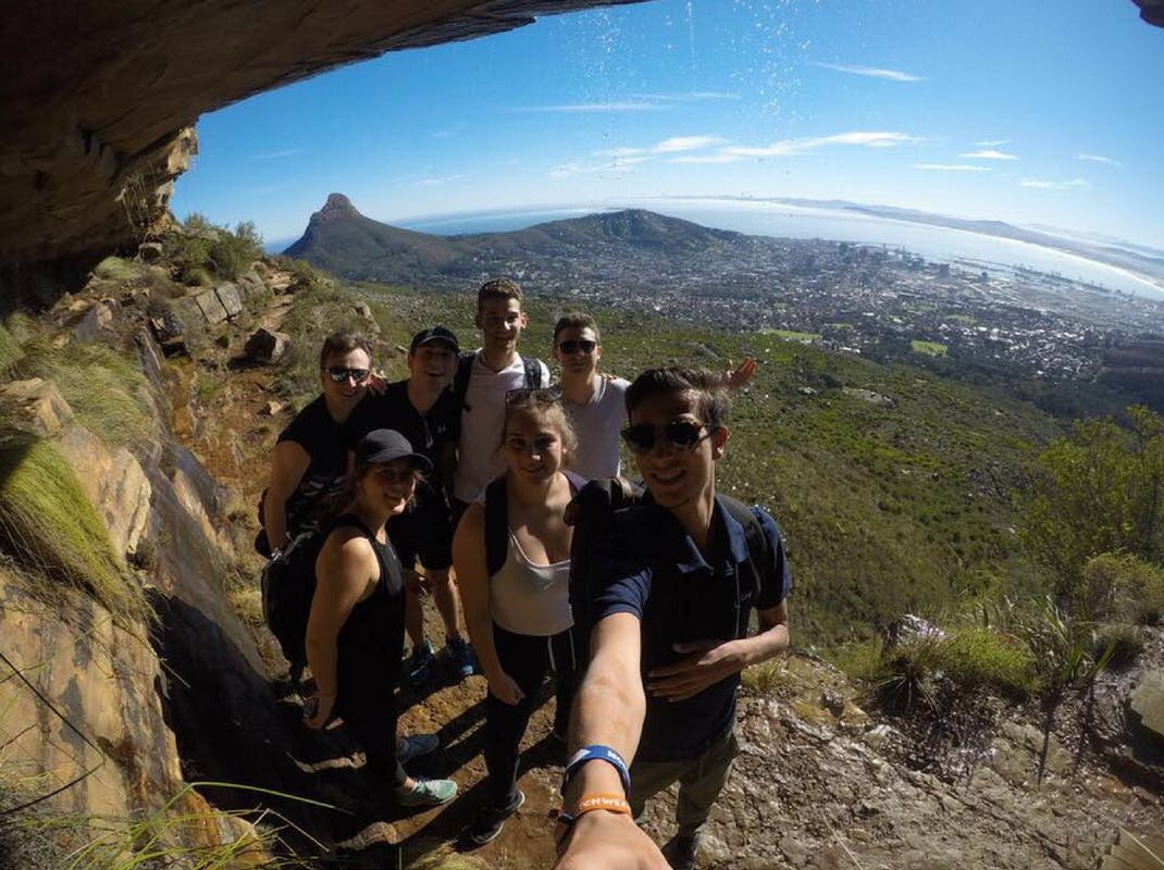 Cape Town selfie with international interns