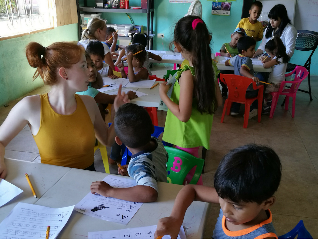 Education internship in Costa Rica