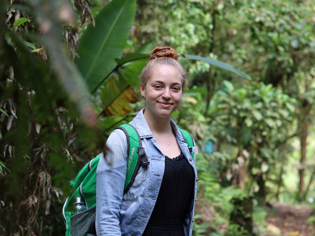 Environmental conservation intern in Costa Rica