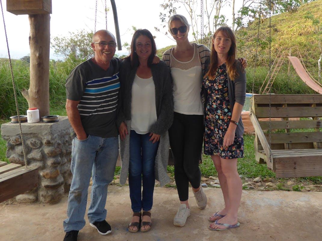 Homestay family in Costa Rica