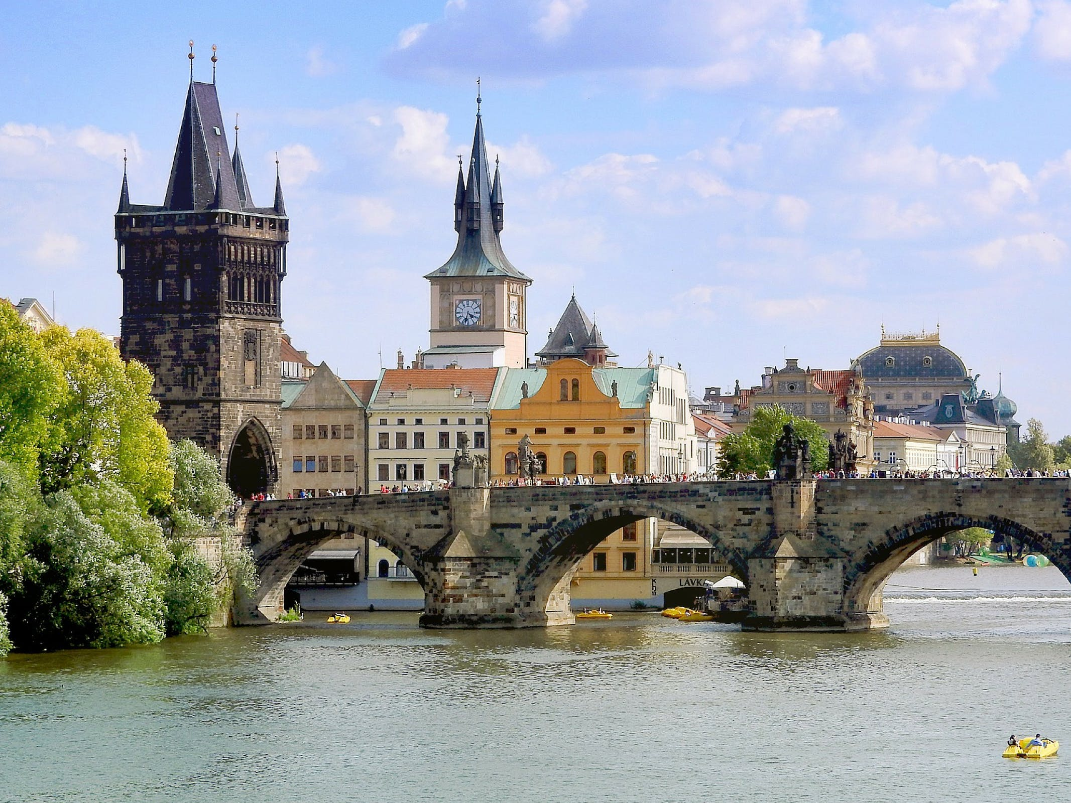 Intern Abroad in the Czech Republic