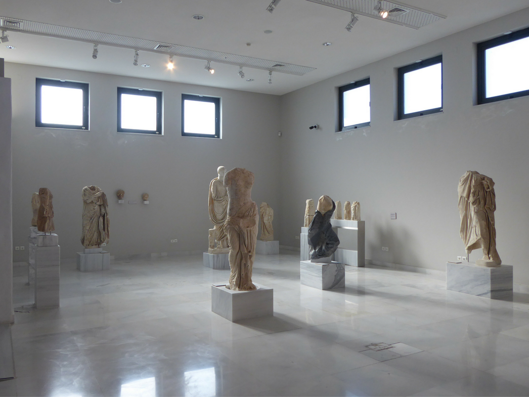 Archaeological museum in Samos, Greece
