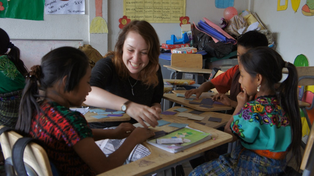Teaching English and education Guatemala